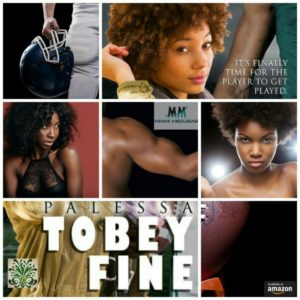 Tobey Fine, Sacked & Tackled 1 by Palessa A Sports romance about a football player who meets his match